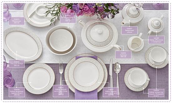 Полная коллекция посуды Орифлейм