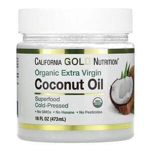 California Gold Nutrition, кокосовое масло