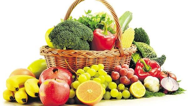 Фрукты и овощи в диете для похудения
