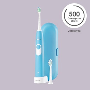Электрическая зубная щетка Philips HX 6212